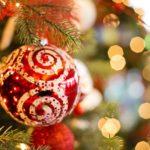 festive Christmas scene